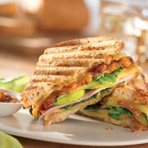 French's Chutney, Ham and Cheese Panini recipe | French's Mustard ...